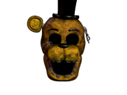 Withered golden freddy jumpscare 8