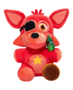Funko fnaf 6 rockstar foxy plush png by superfredbear734-dcrlq9w