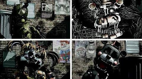 Video Fnaf 6 Ultra Rare Opening All Back Alley