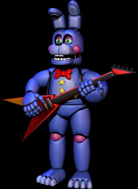 Rockstar Bonnie | Freddy Fazbears Pizzeria Simulator Wiki | FANDOM