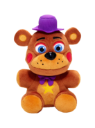 Funko fnaf 6 rockstar freddy plush png by superfredbear734-dcrlqab