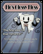 Flo's Glossy Floss Poster