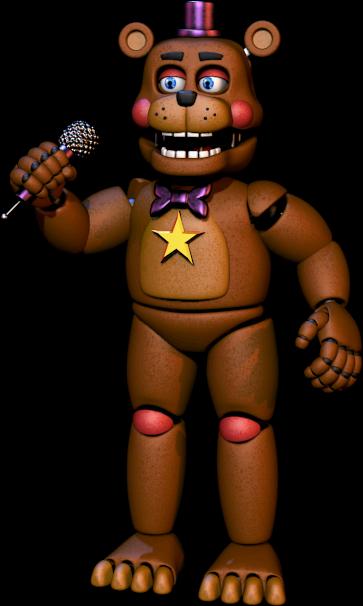 Rockstar Freddy Freddy Fazbears Pizzeria Simulator Wiki