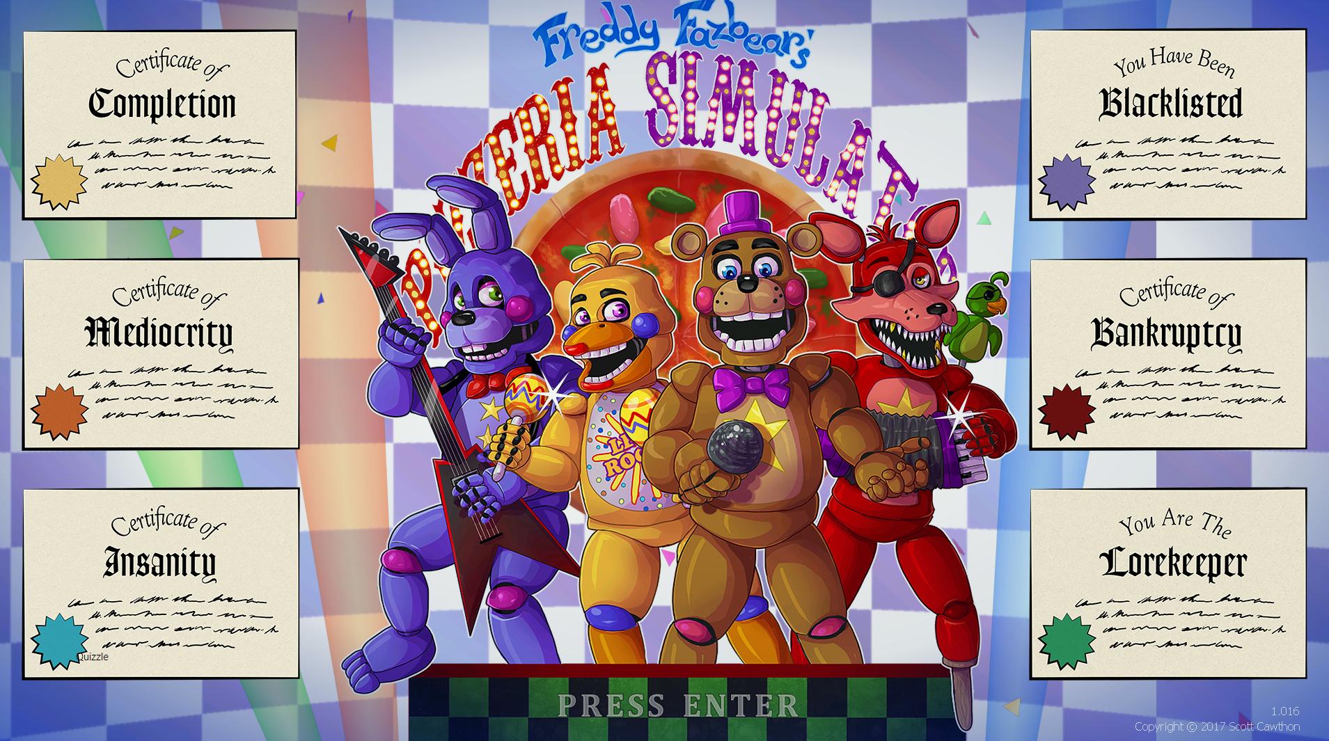 Rockstar Bonnie Freddy Fazbears Pizzeria Simulator Wiki
