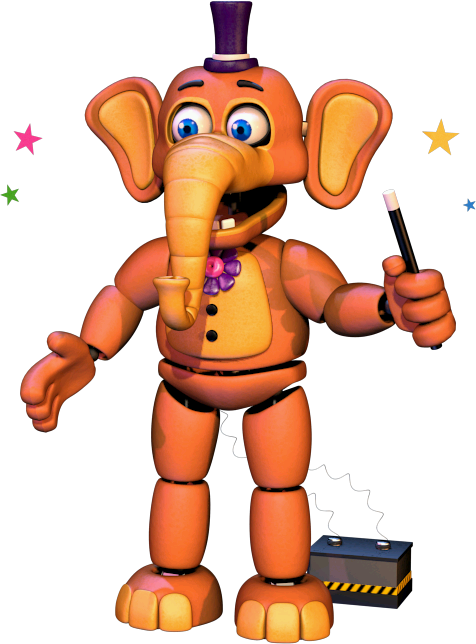 Orville Elephant | Freddy Fazbears Pizzeria Simulator Wiki