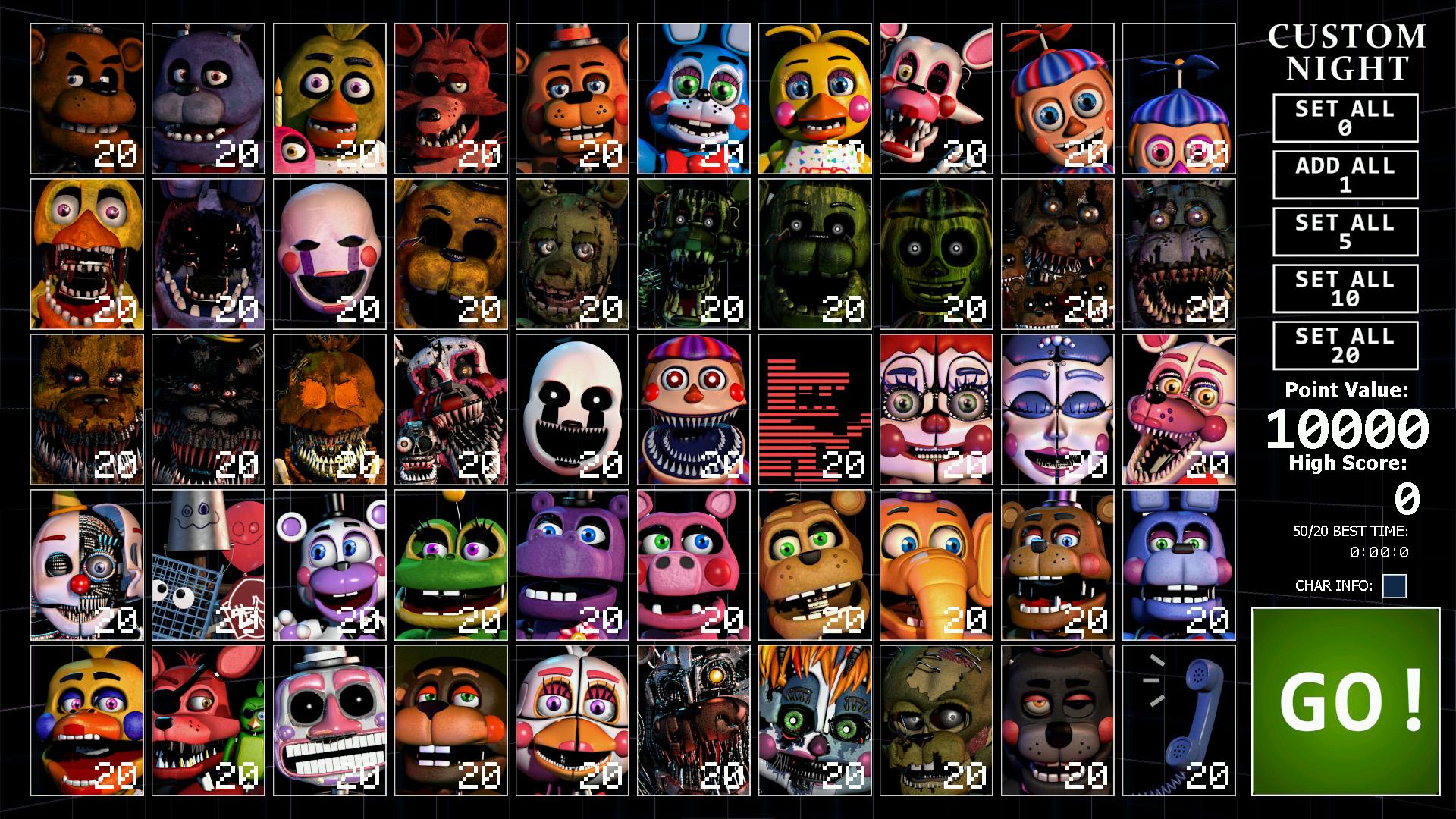 Image Ultimate Custom Night Teaser 7 Jpg Freddy