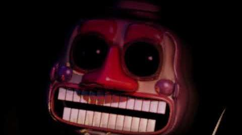 MusicMan from Ultimate Custom night singing Hush a Bye Mountain