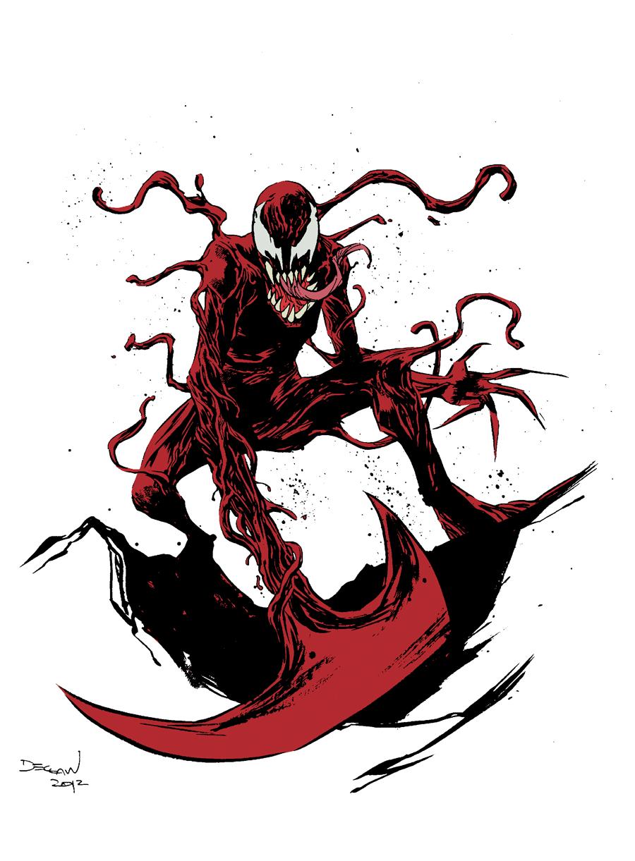 Spiderman vs carnage drawings - photo#38