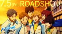World roadshow - Rei, Romio, Shizuru, Nagisa, Gou, and Ayumu