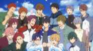 Free! Dive to the Future Characters