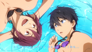 Free! Episode 1 End Card