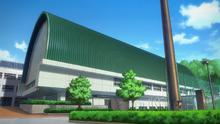 Shimogami university pool exterior