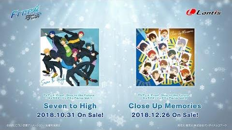 Free!-Dive to the Future- Character Song Mini Album Vol.2 Close Up Memories