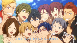Free! Episode 12 End Card
