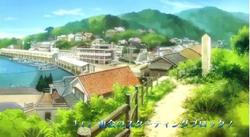 Iwatobi scenery