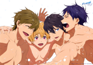 Dvd art card iwatobi