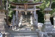 Iwami shrine entrance