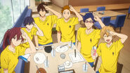 Iwatobi Swim Club in EP11 still 02