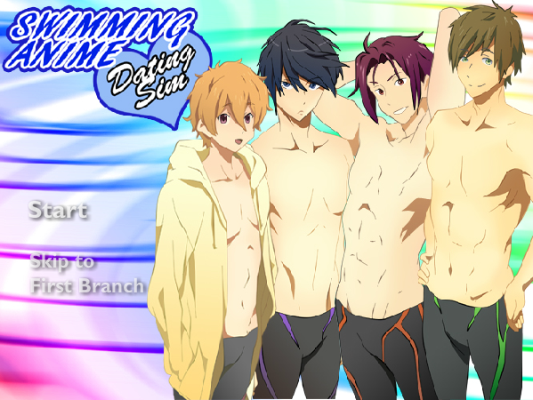 Swimming Anime Dating Sim VERY BETA