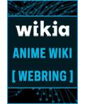 Wikia anime wiki webring button