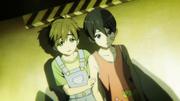 Haru et makoto lors de l'accident