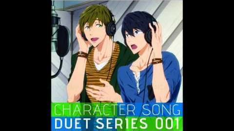FREE! Character Song Duet Series Vol 1 Makoto Tachibana & Haruka Nanase Always Here +Paroles
