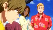 Goro avec sa chemise