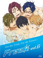 Free! Vol.6 Blu-ray package