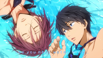 Free! Episode 2 End Card