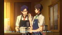 Free! Episode 8 End Card