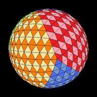 Icosahedron colored tilt