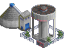 B.water treatment
