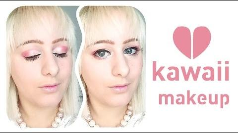 Kawaii makeup look - Concrete Minerals