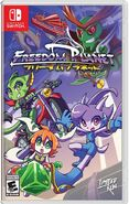 Freedom Planet Nintendo Switch Box