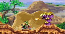 Snake Mount vs. Carol