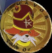 Mayor Zao Coin Front