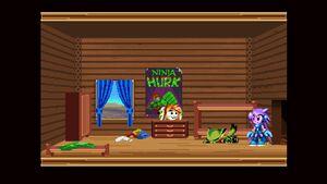LilacsTreehouseBedroom