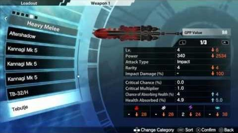Freedom Wars Weapon Cloning w Facilities
