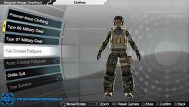 Full Combat Fatigues (Style B)
