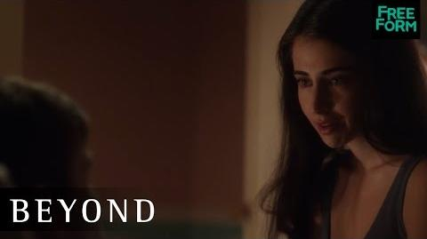 Beyond 1x03 Clip Holden and Willa Freeform