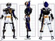 SPD Omega Ranger Swat Mode