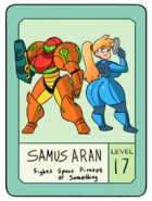 Samus pow card by modestsloth-dbnz57v