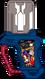 Bomberman gashat by wizofwonders-dbqhkmf