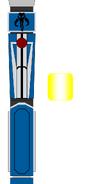Mandalorian lightsaber by jedimsieer
