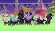 The mane 6 getting petrified by dashiemlpfim-dc0c2rm