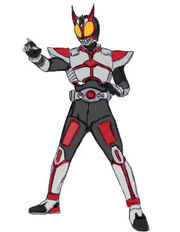 Kamen Rider Stag coloured