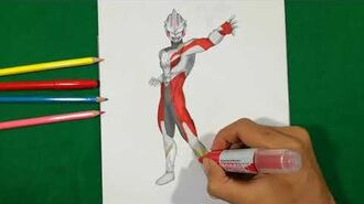 ULTRAMAN ORB POWER MEBIUS FINAL FIGHT Coloring Pages SAILANY Coloring Kids
