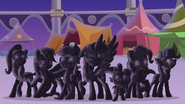 The mane 6 turned to stone by dashiemlpfim-dc11mpu