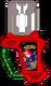 Knuckles chaotix gashat by wizofwonders-dbnx3x1