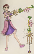 The big four kingdom hearts rapunzel by rosethornart d9hc3x5-pre